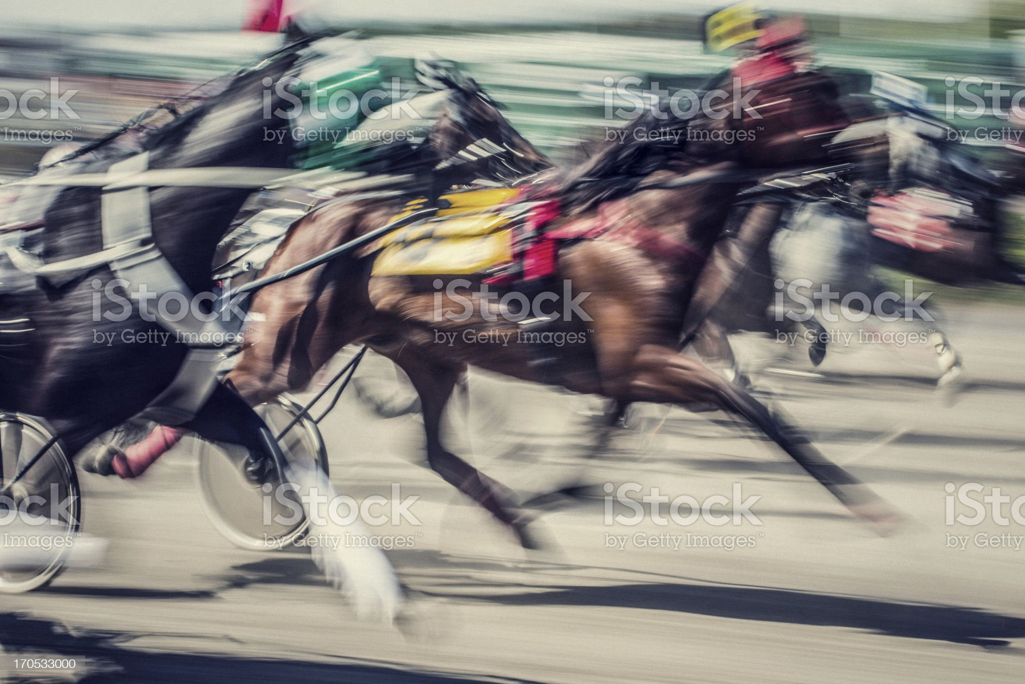 Horseracing royalty-free stock photo