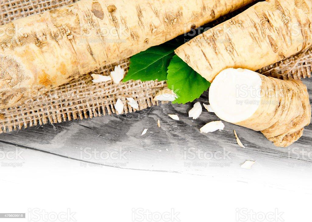 Horseradish stock photo