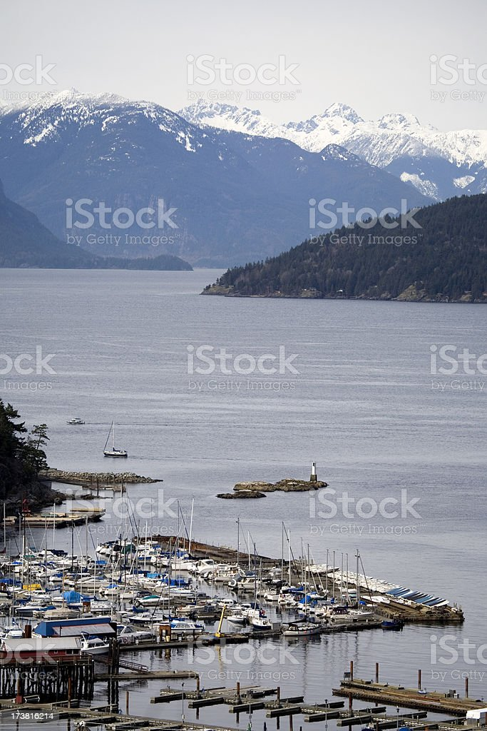 Horseshoe bay II stock photo