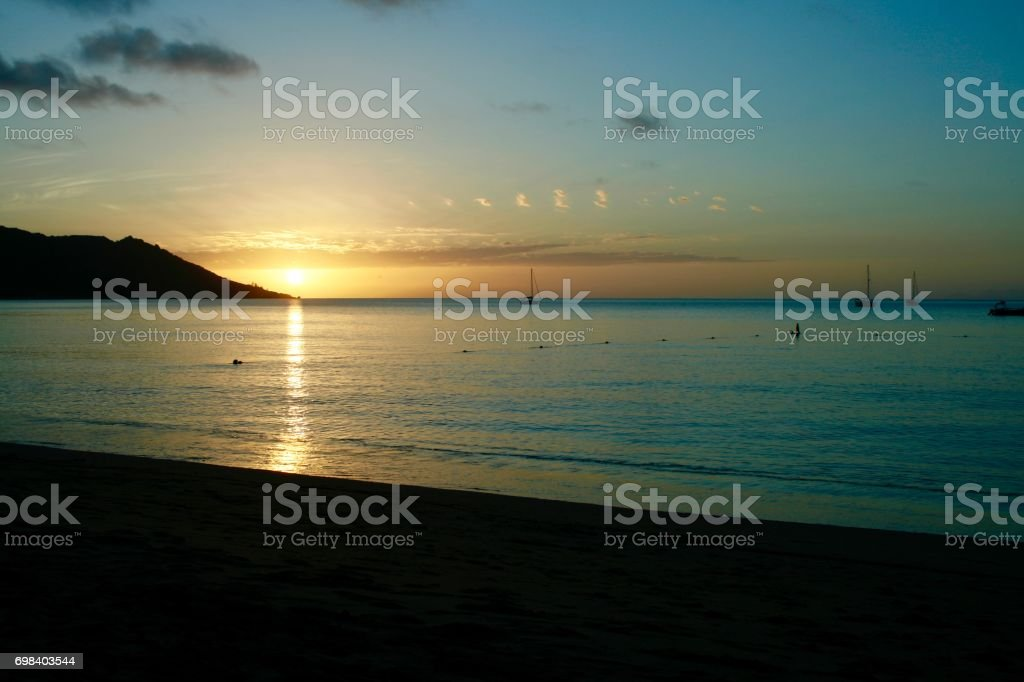 Horseshoe Bay, Magnetic Island, Queensland, Australia stock photo