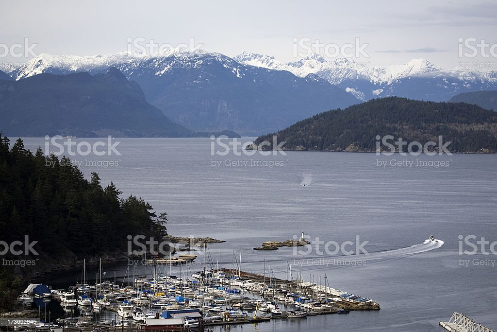 Horseshoe bay stock photo