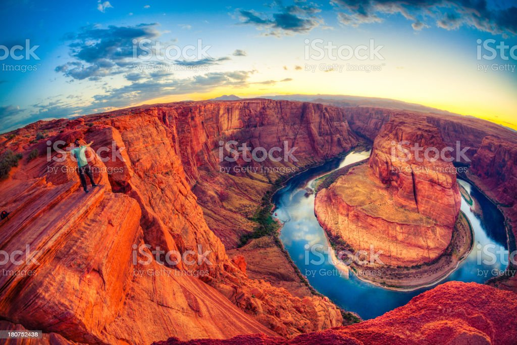Horseshoe bend, Grand Canyon, USA royalty-free stock photo