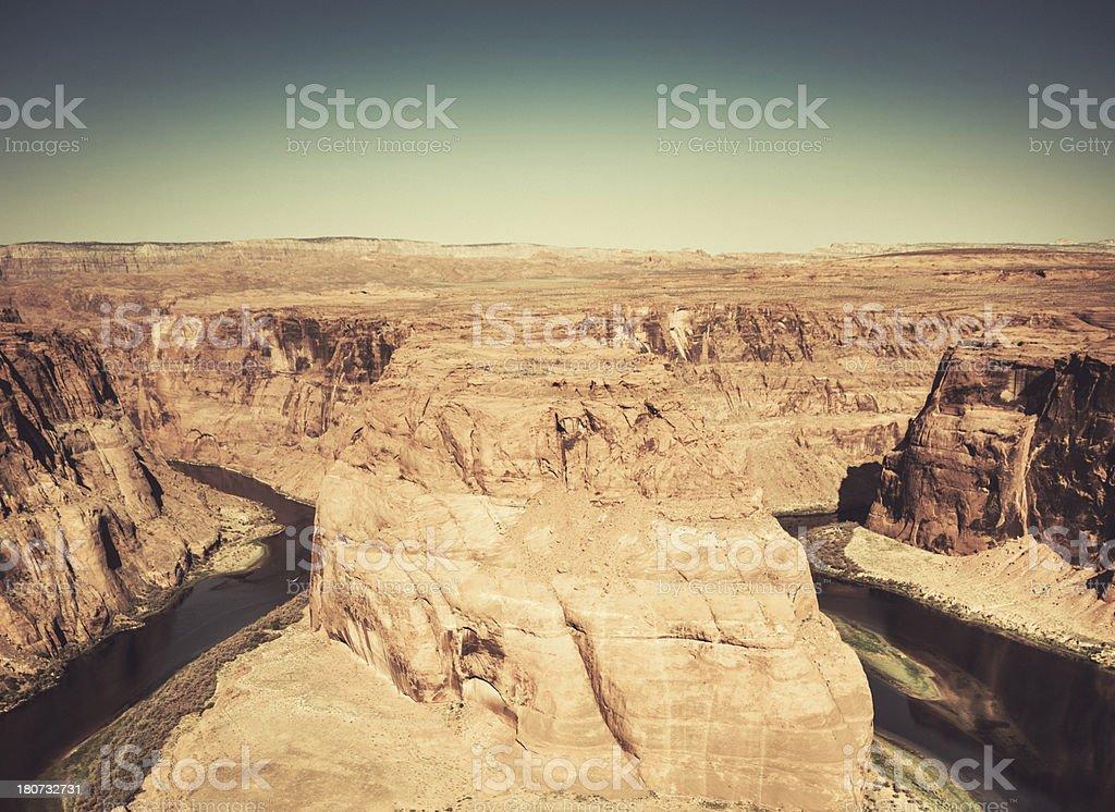 horseshoe bend in arizona royalty-free stock photo