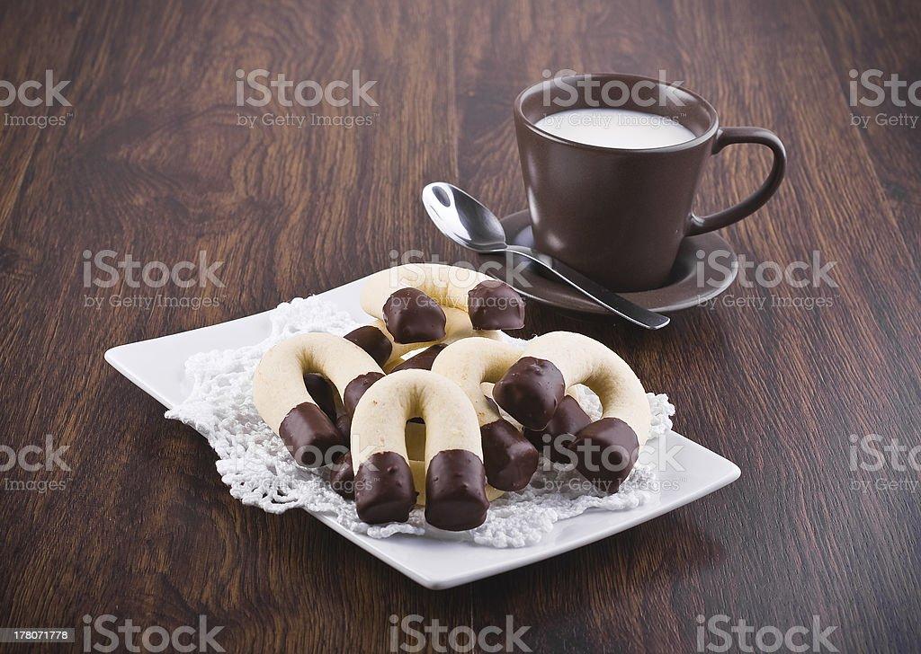 Horseshoe cookies. royalty-free stock photo