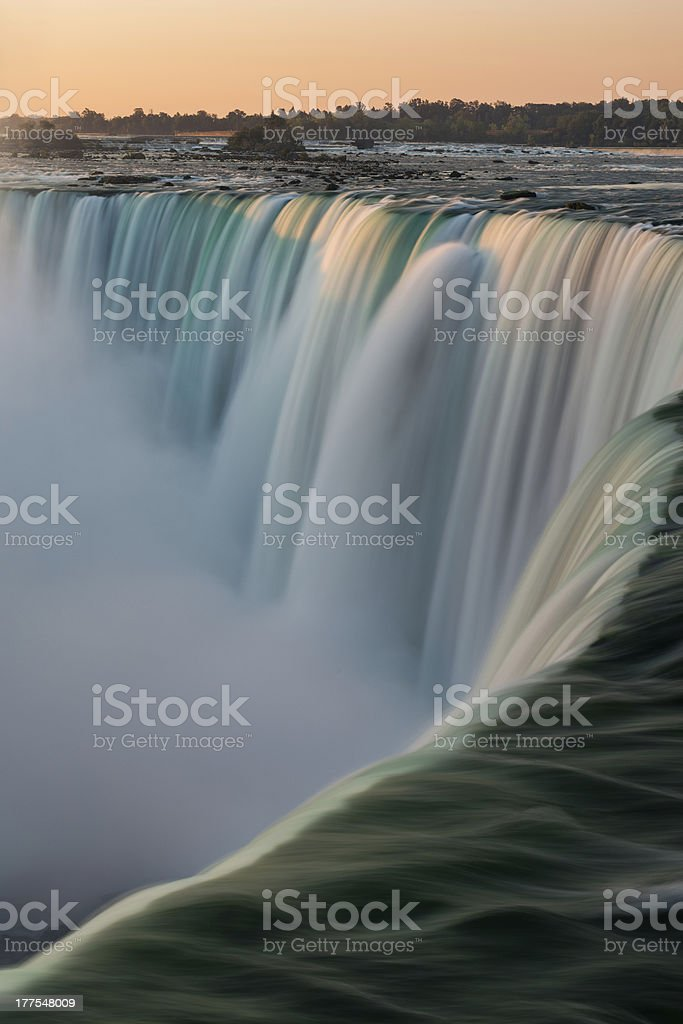 Horseshoe Falls at Niagara stock photo