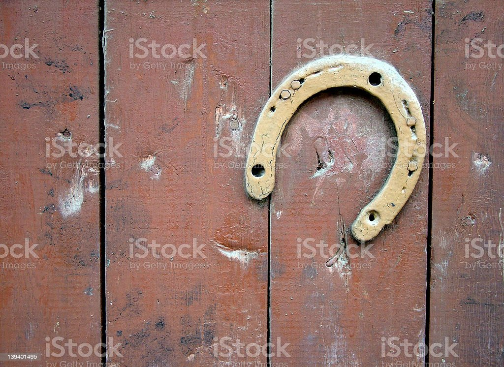 Horseshoe stock photo