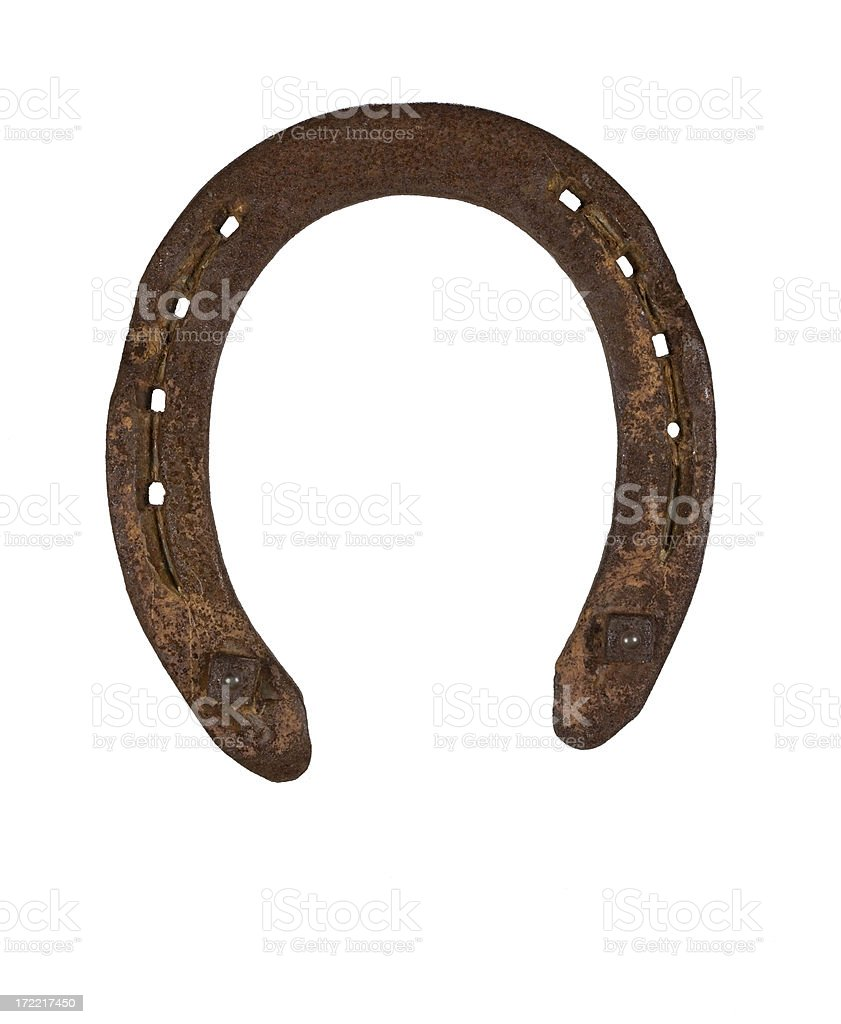 Horseshoe royalty-free stock photo