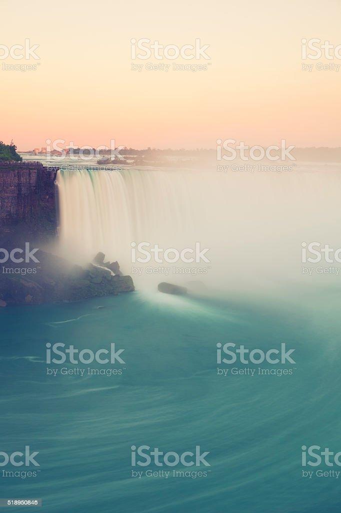 Horseshoe waterfalls, Niagara Falls stock photo