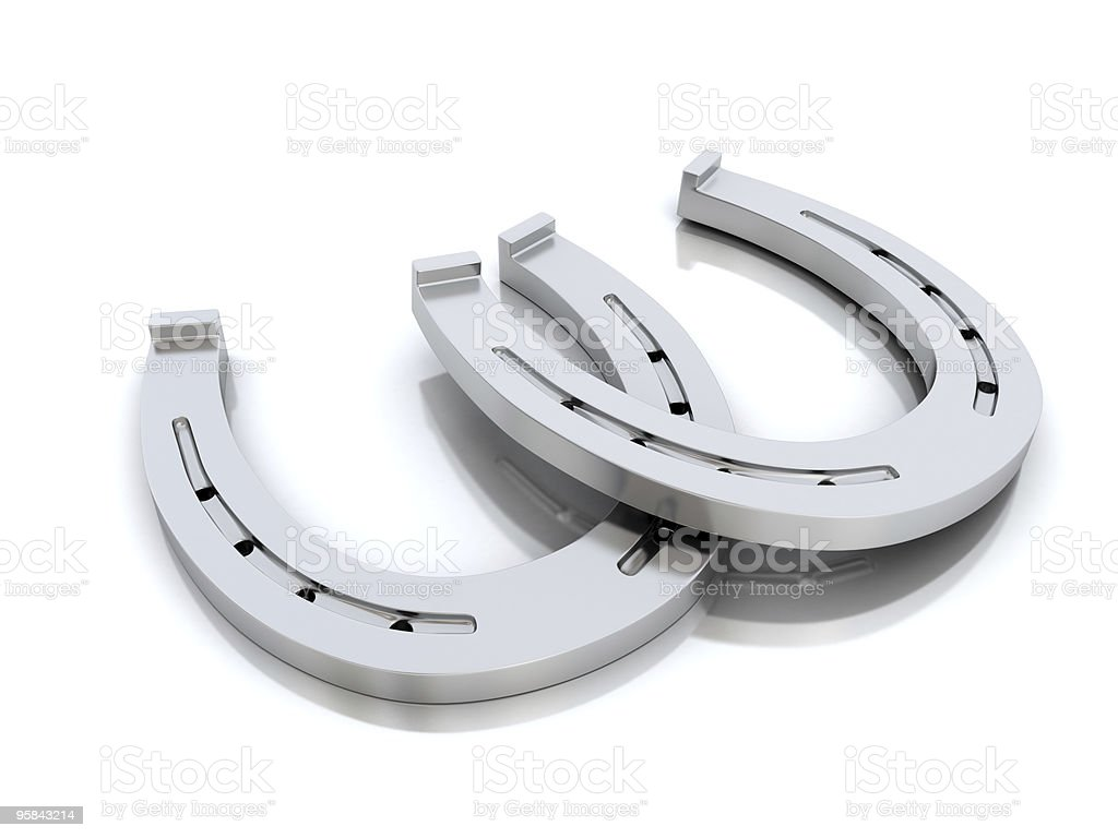 Horseshoes stock photo