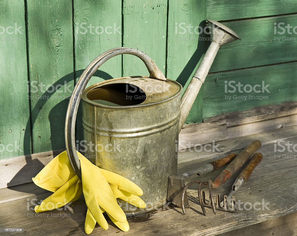 Horticultural things royalty-free stock photo