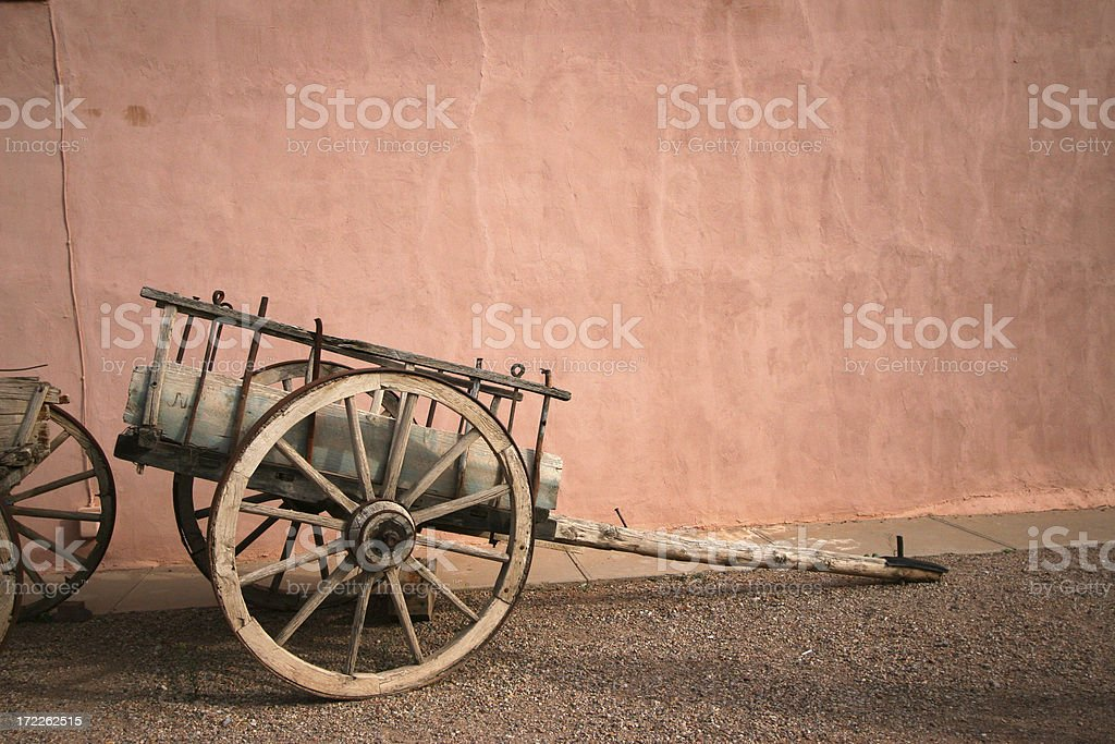 Horzontal Wagon cart stock photo