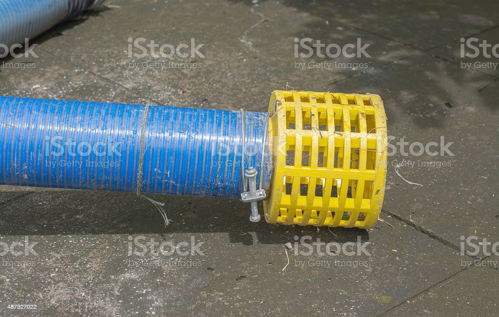 Hose with filter stock photo