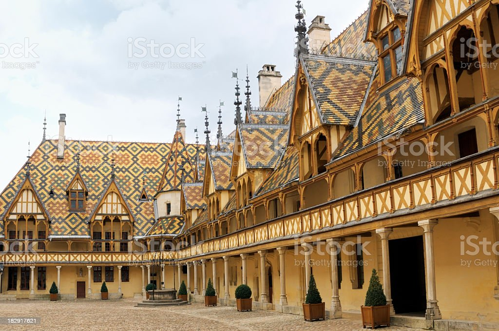 Hospices de Beaune stock photo