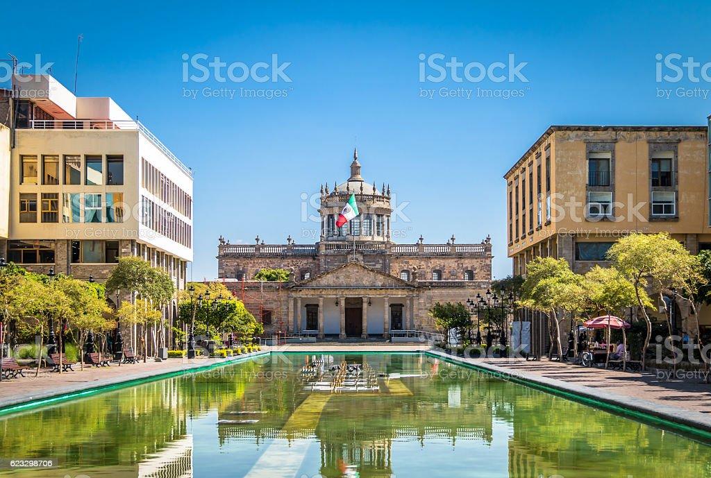 Hospicio Cabanas (Cabanas Cultural Institute) - Guadalajara, Jalisco, Mexico stock photo