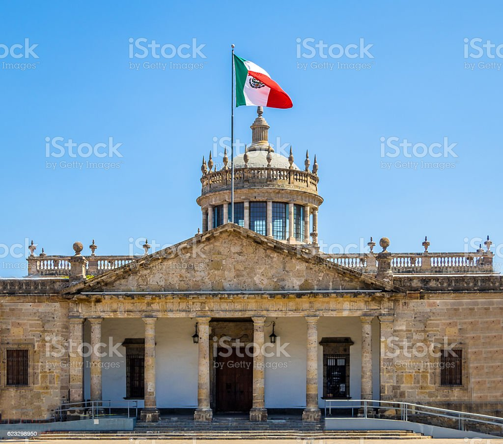 Hospicio Cabanas (Cabanas Cultural Institute) - Guadalajara, Jalisco, Mexico stock photo