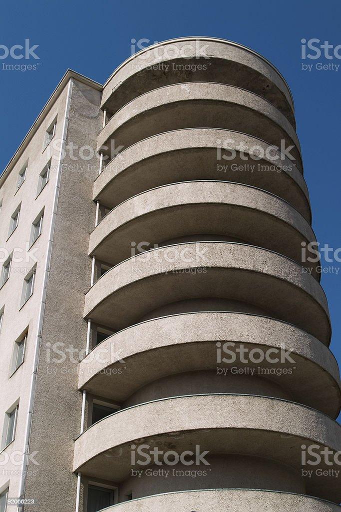 Hospital architecture royalty-free stock photo