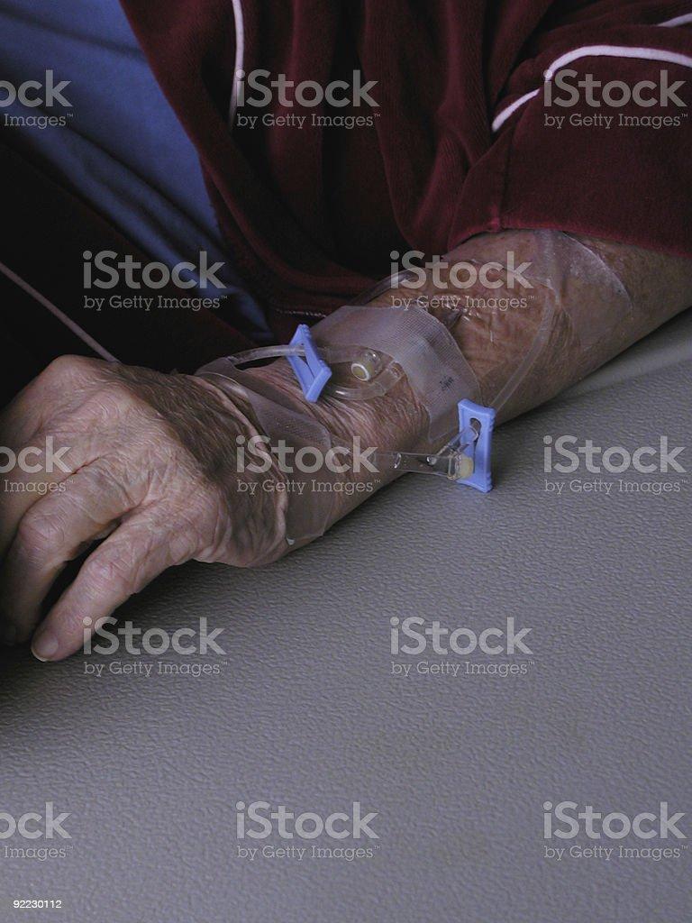Hospital Arm royalty-free stock photo