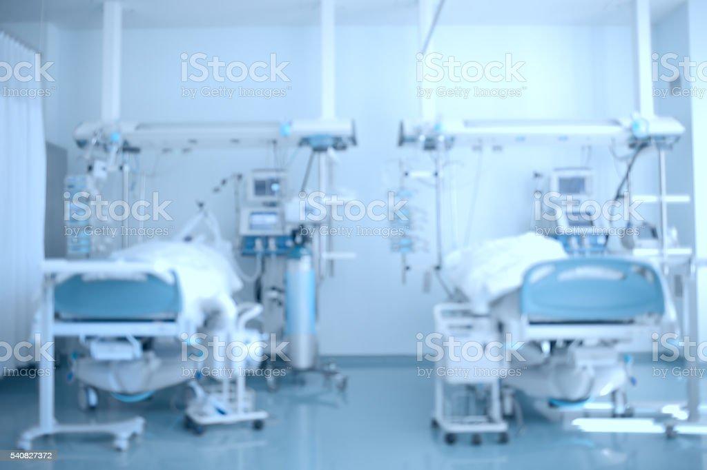 Hospital background stock photo