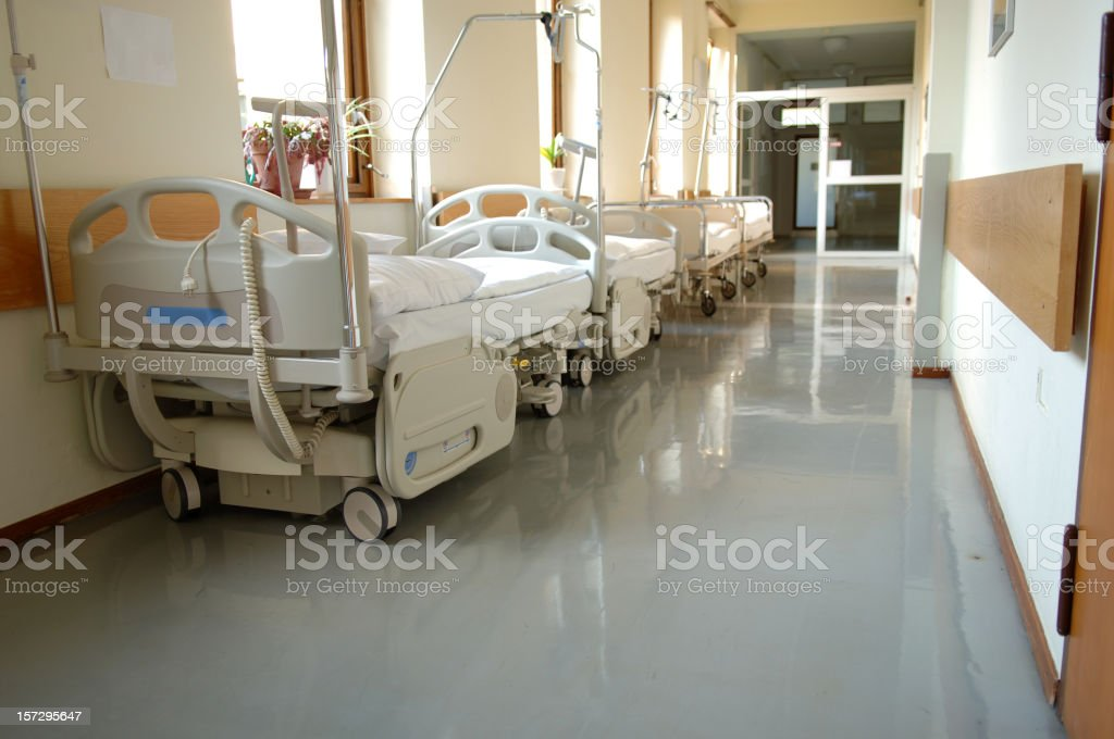 Hospital bed #2 royalty-free stock photo