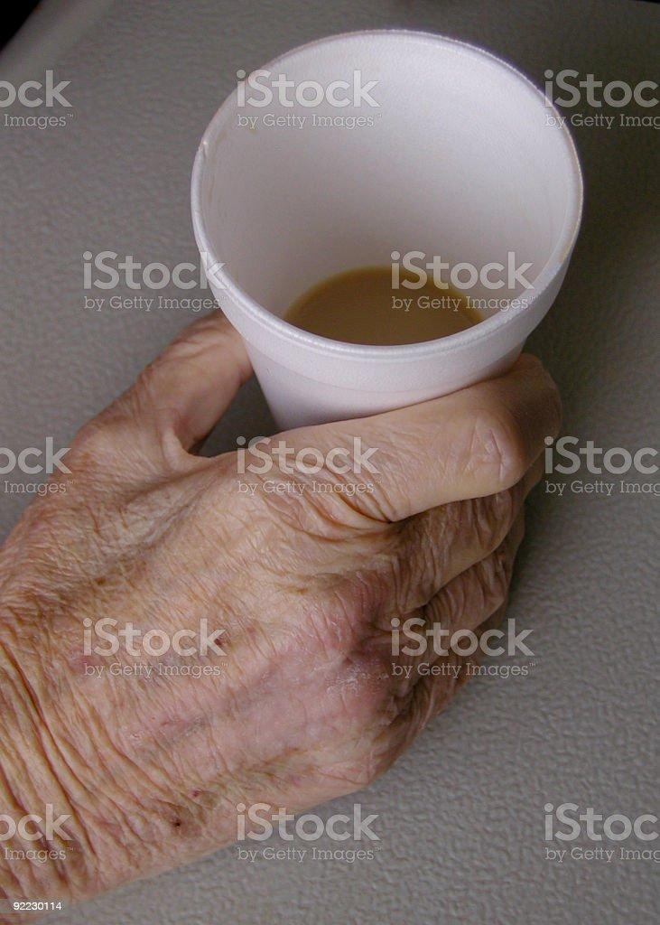 Hospital Coffee stock photo