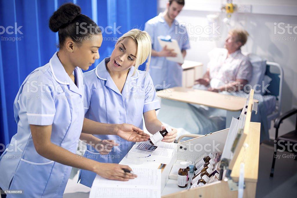 hospital dispensary stock photo