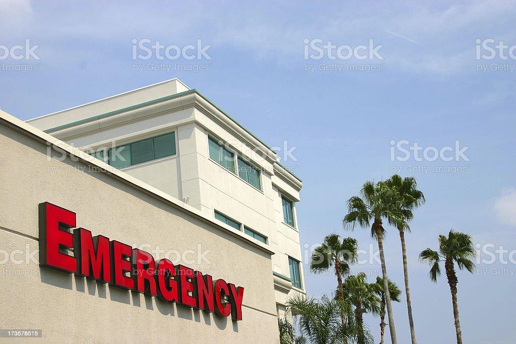 Hospital Emergency Entrance royalty-free stock photo