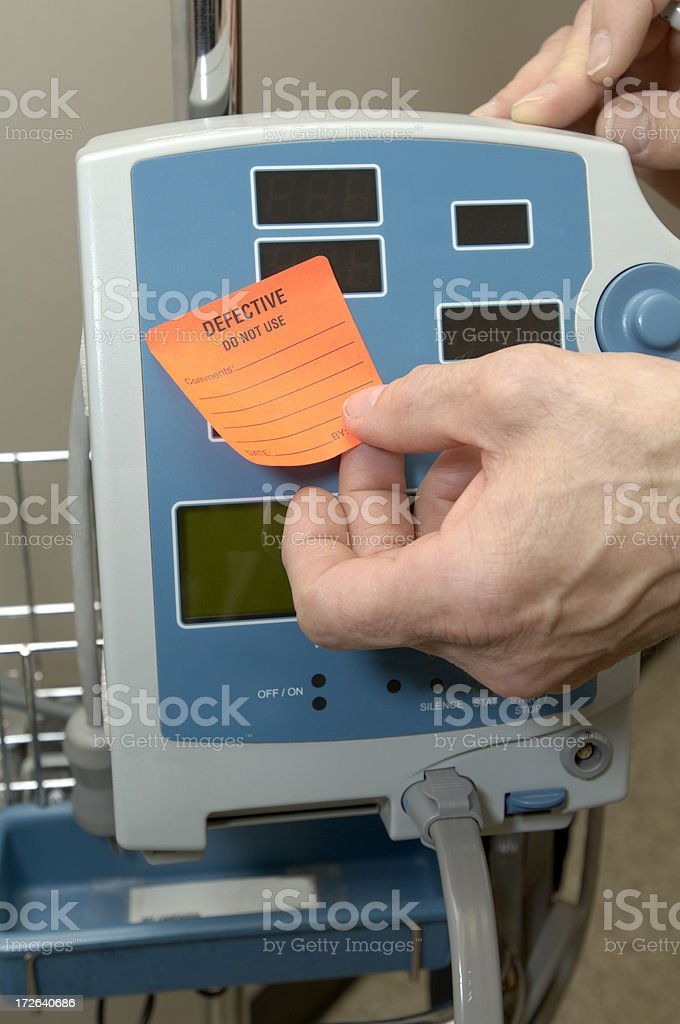 hospital equipment for repair stock photo