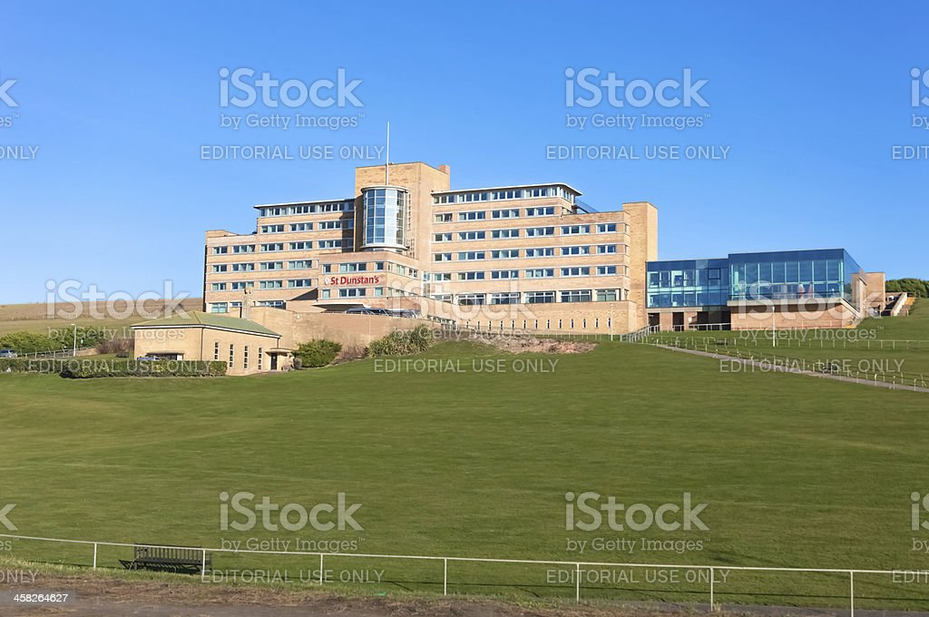 Hospital for the blind royalty-free stock photo