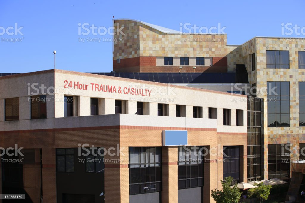 Hospital front royalty-free stock photo