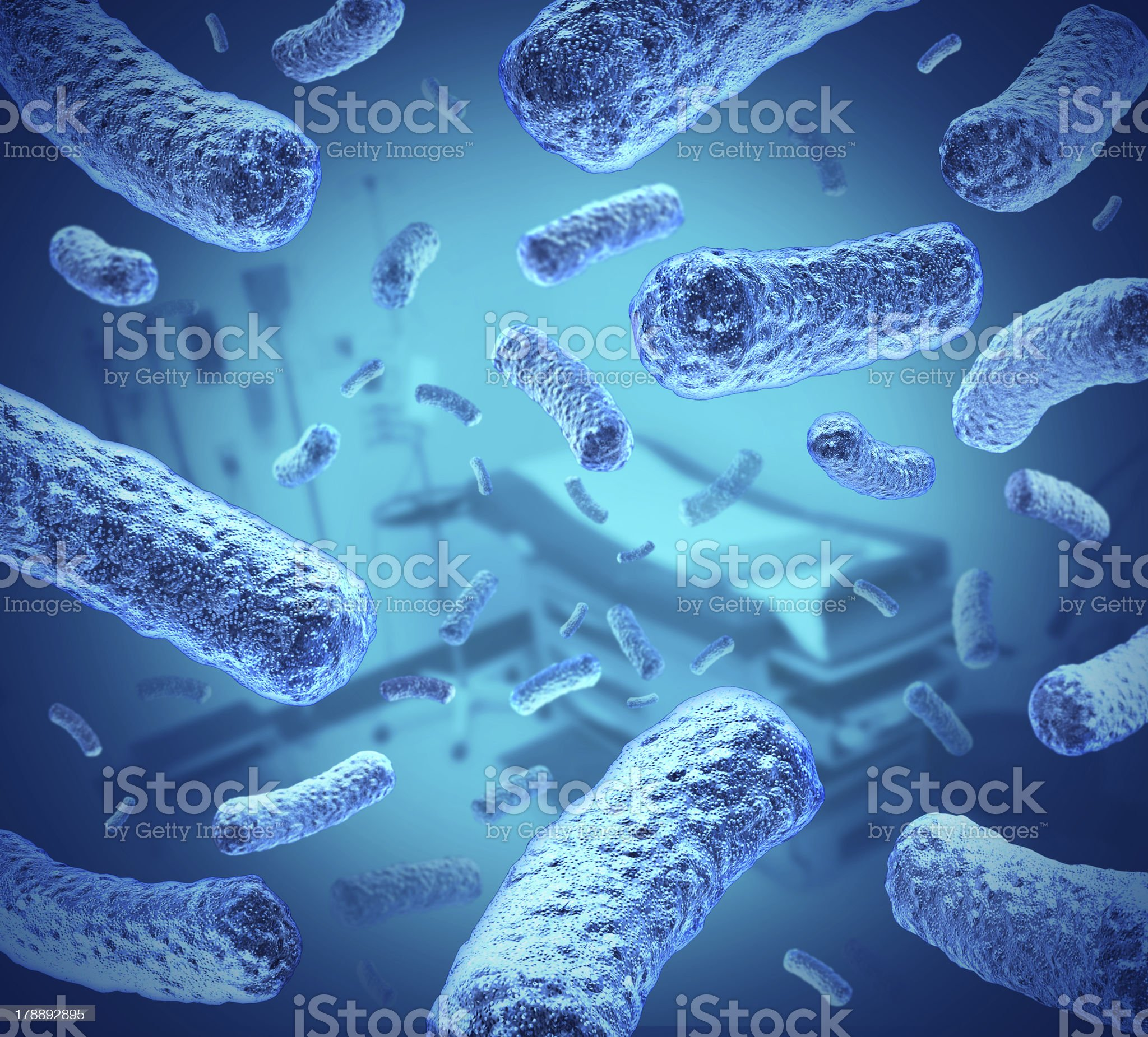 Hospital Germs royalty-free stock photo