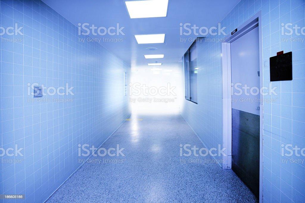 Hospital Hallway 2 royalty-free stock photo