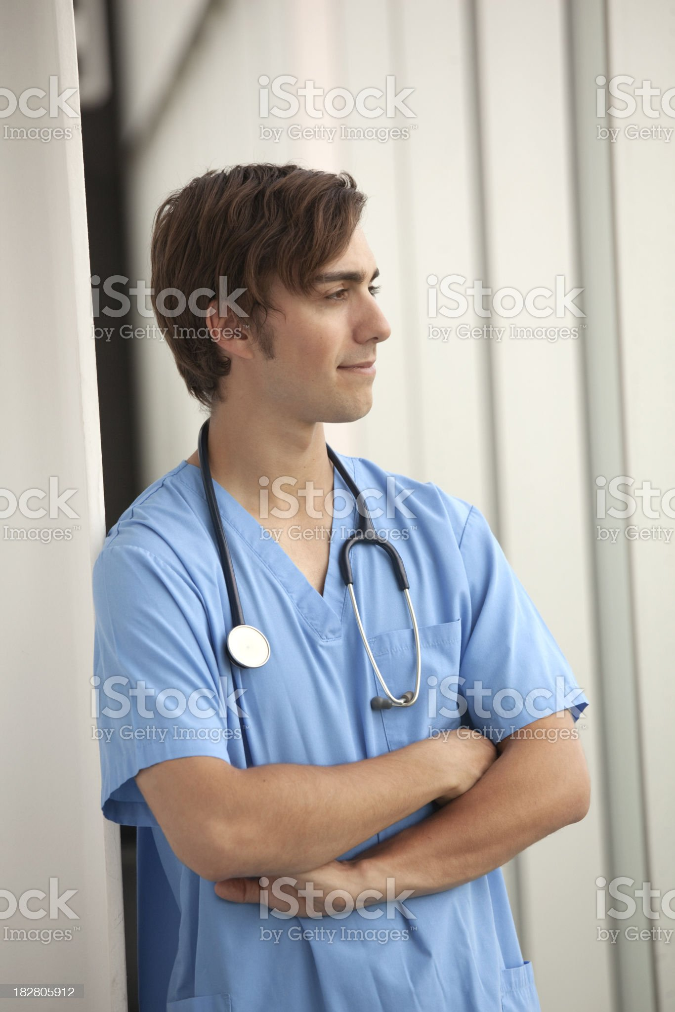 Hospital - Medical Worker royalty-free stock photo