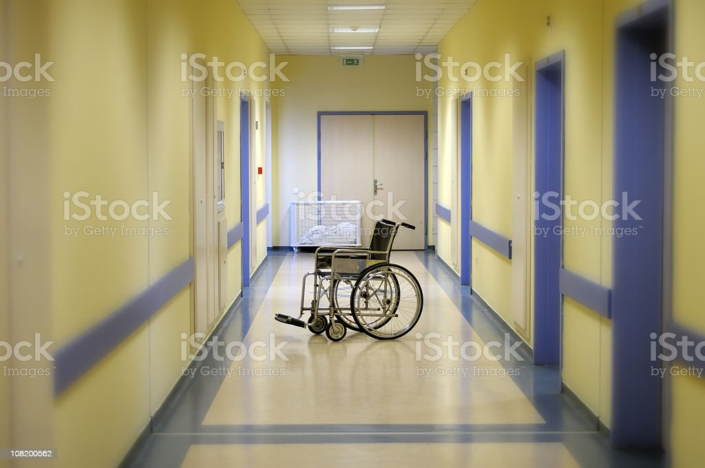 Hospital Nightmare royalty-free stock photo