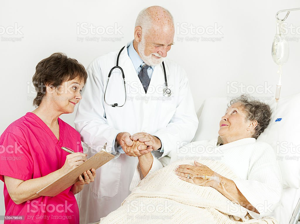 Hospital - Patient Care royalty-free stock photo