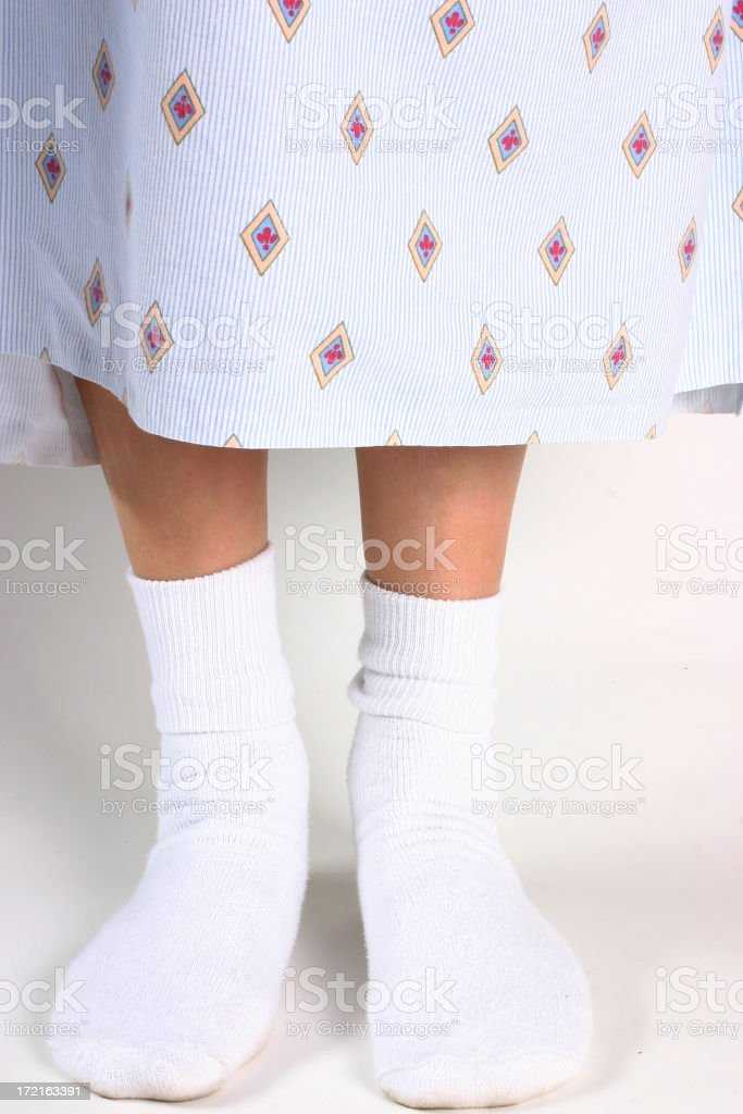 Hospital Patient stock photo