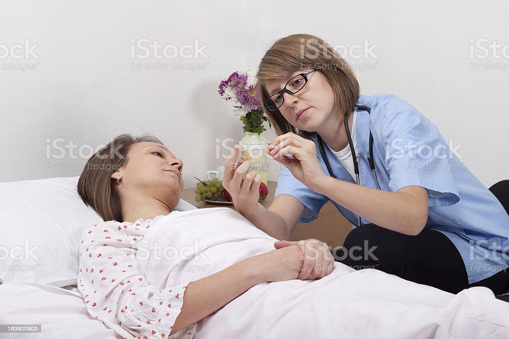 Hospital royalty-free stock photo