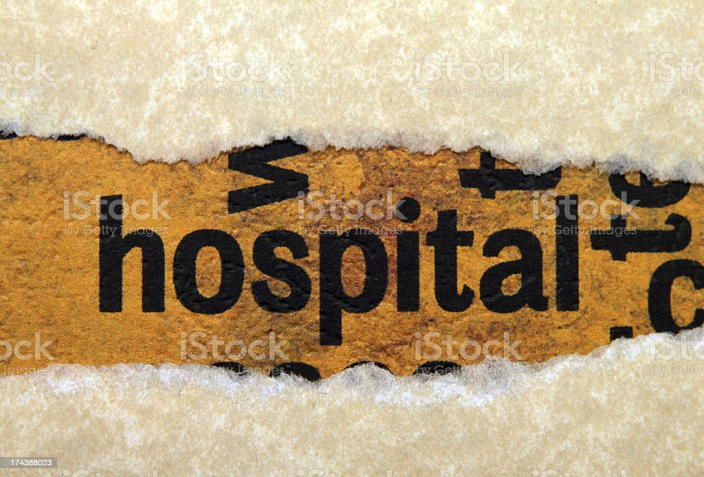 Hospital royalty-free stock photo