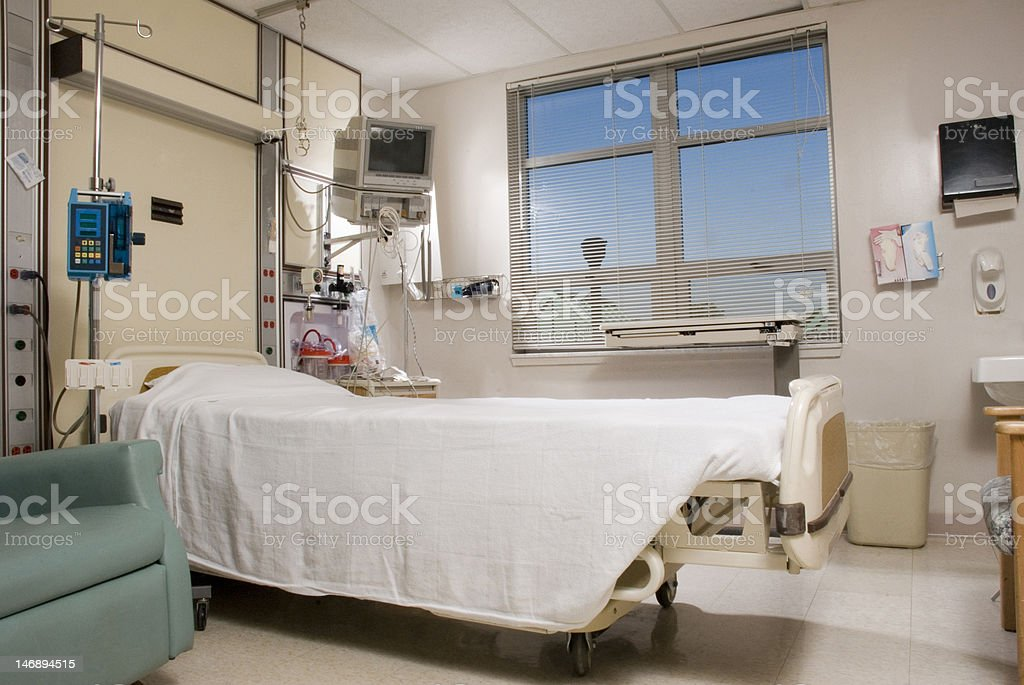 Hospital Recovery Room stock photo