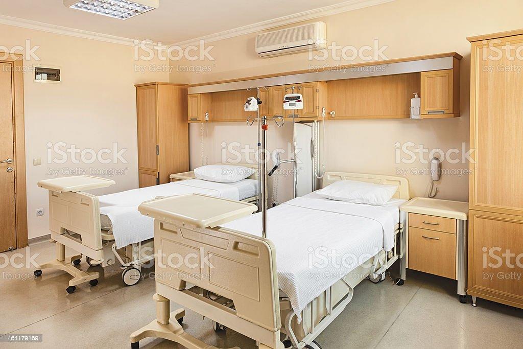 Hospital Room stock photo