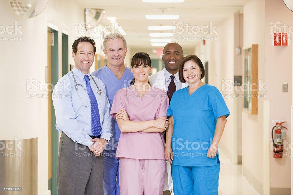 Hospital Team stock photo