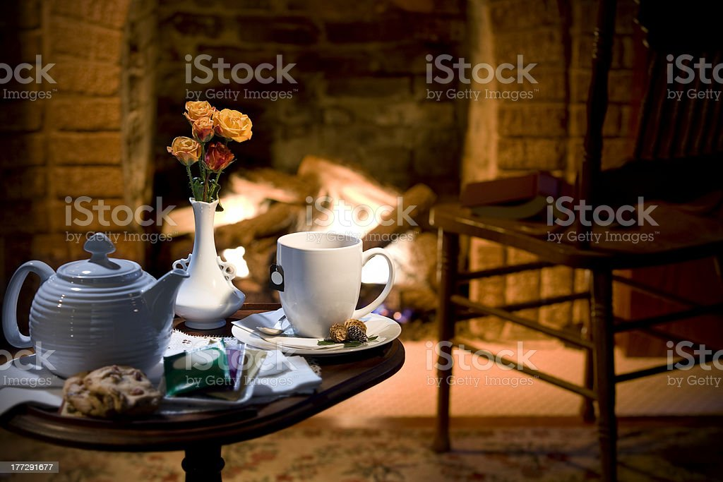 hospitality or bed and breakfast setting royalty-free stock photo