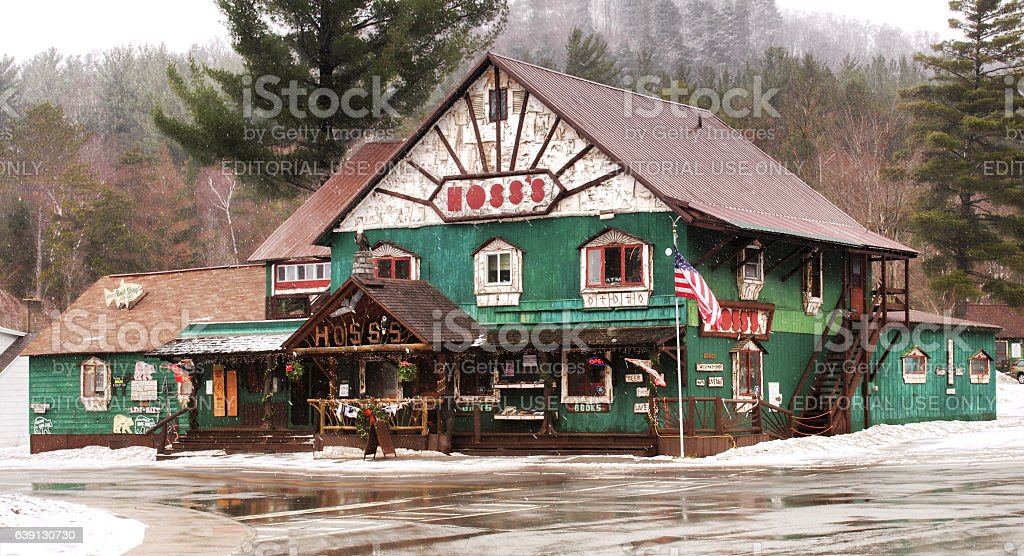 Hoss's Country Corner stock photo