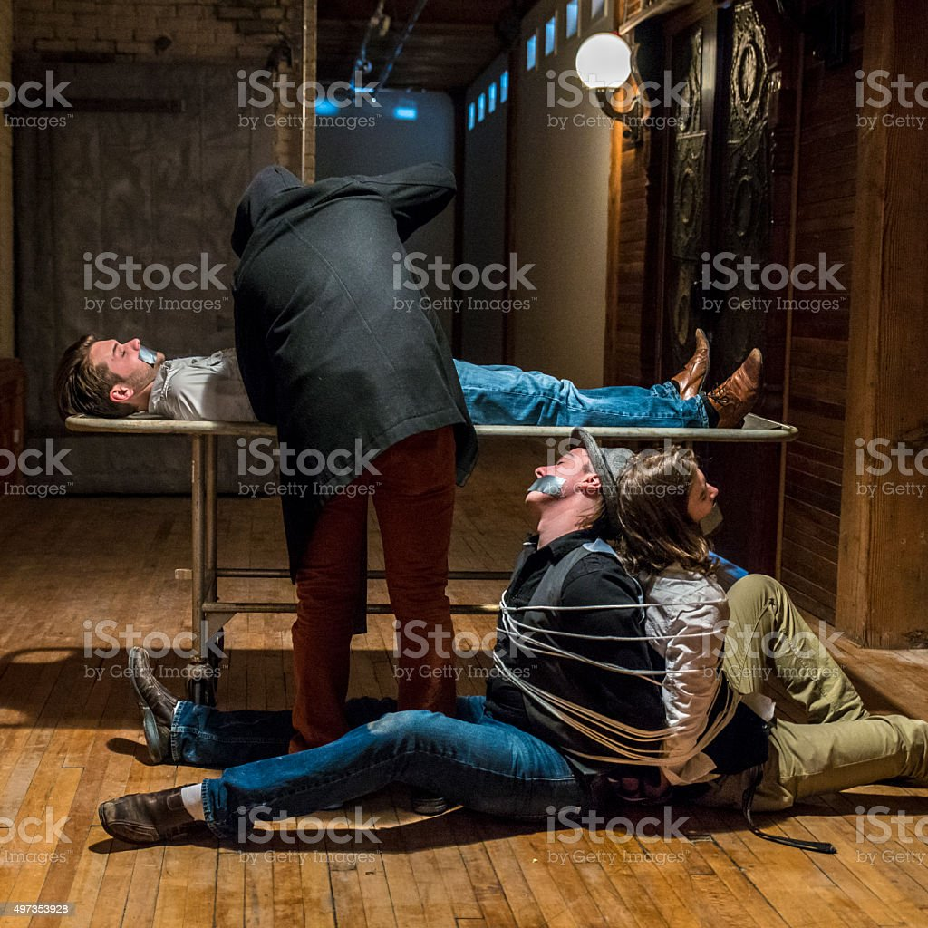 Hostage Situation stock photo