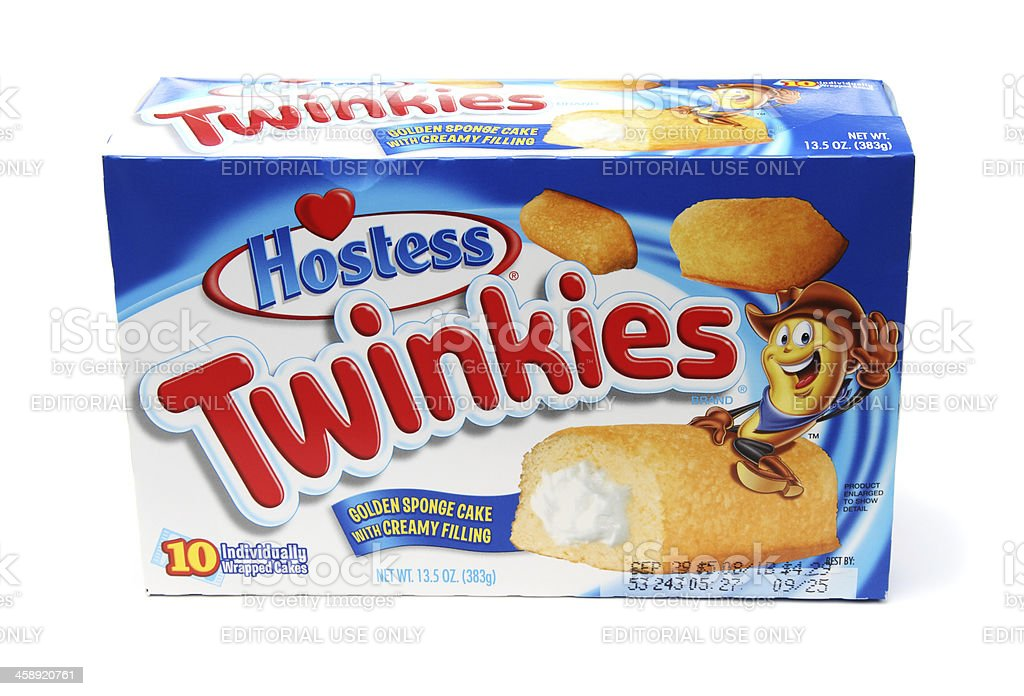 Hostess Twinkies stock photo