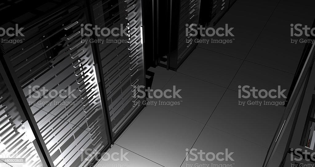 Hosting Blackout stock photo