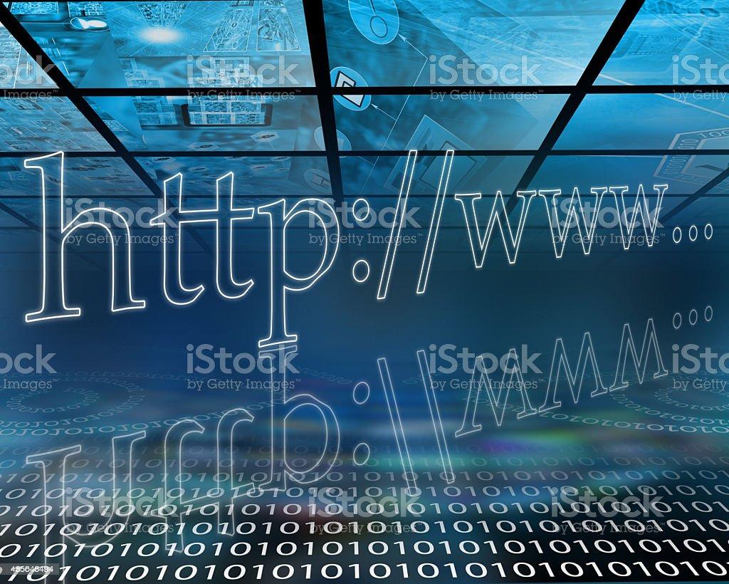 hosting stock photo