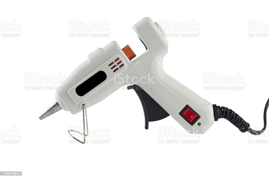 hot adhesive gun royalty-free stock photo