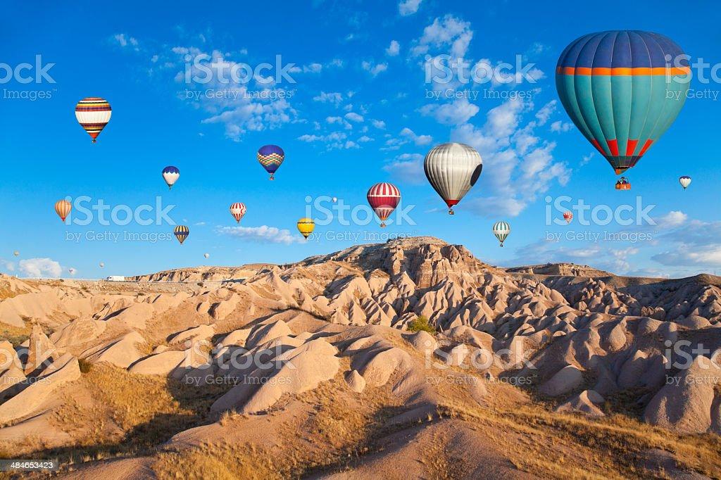 Hot Air Ballons of Cappadocia stock photo