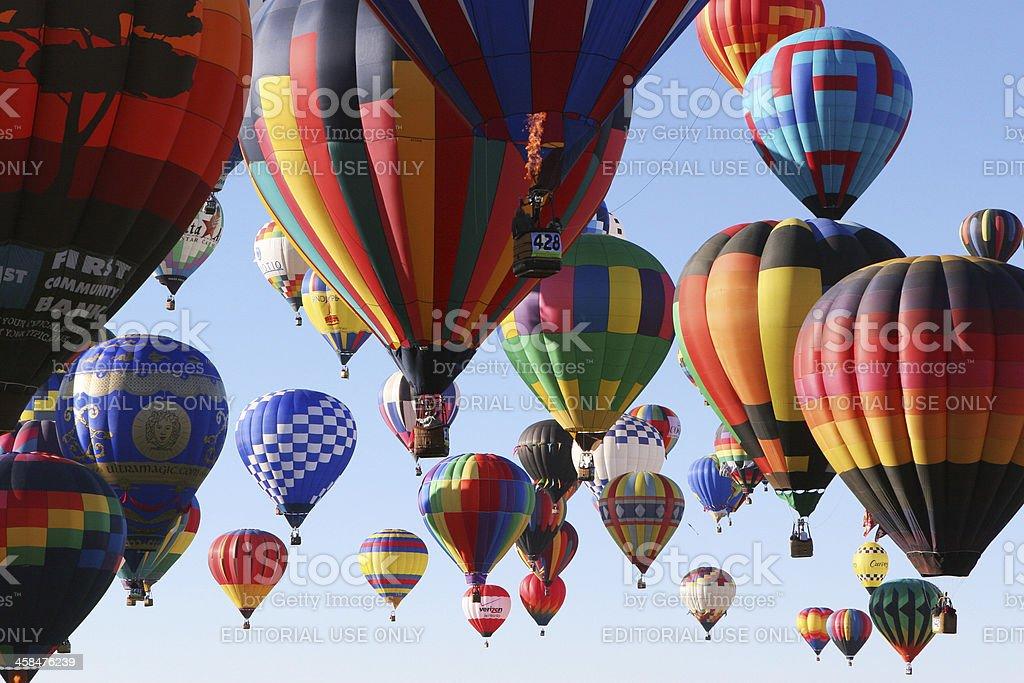 Hot Air Balloon Ballooning Festival royalty-free stock photo