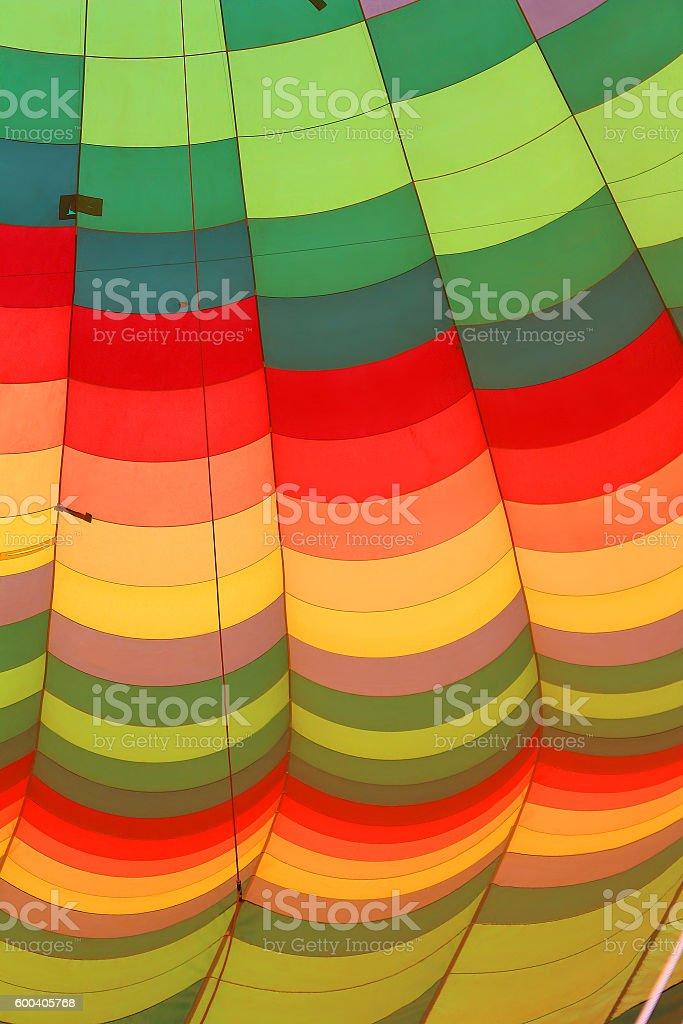Hot air balloon, close-up stock photo